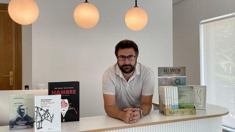 Diego Moreno, editor de Nórdica, con sede en Madrid