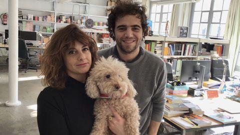 Alice Incontrada y Jan Martí, de la barcelonesa Blackie Books