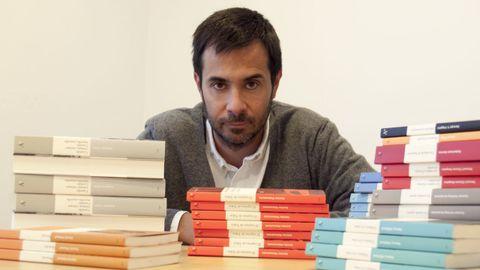 El vigués Luis Solano es el editor de Libros del Asteroide