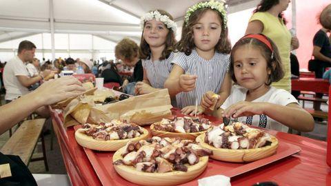 Festa do Polbo de Palmeira en su edición de 2019, en Ribeira.