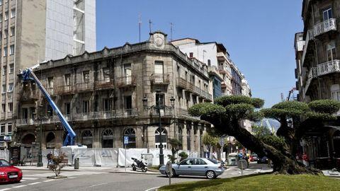 Rosalía de Castro, 31. Una inmobiliaria de Andbank dirige el proyecto.
