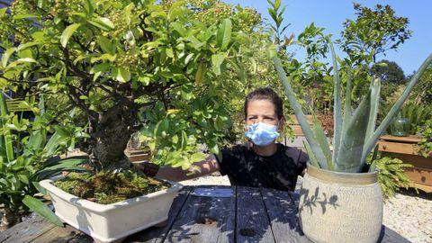 El vivero Xardigal en Lugo cuenta con una exposición de unos dos mil metros cuadrados de plantas de interior y exterior. Desde el 2007 se dedican, además,  al alquiler de plantas.