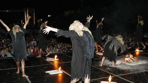 Antes de la pandemia, la «Noite meiga» era la celebración que marcaba el fin del verano en Sarria