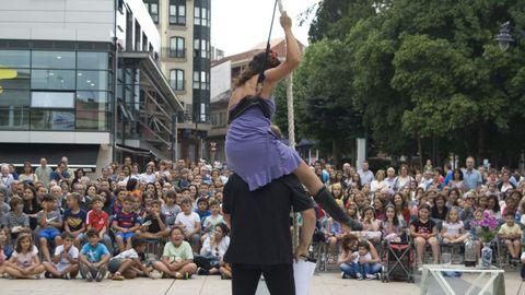 El espectáculo de circo «Máis alto aínda» hará parada en A Fonsagrada