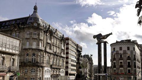 Puerta del Sol, en Vigo.