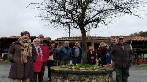 Centro geográfico de Asturias, en Llamuñu (Siero)