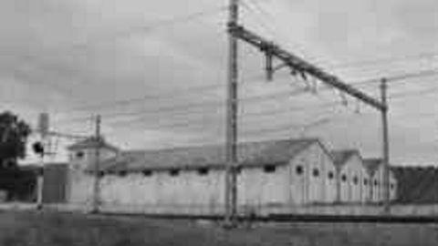 Imagen de un granero publicada por el régimen franquista