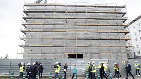 Uno de los dos nuevos edificios que se construyen con el Plan Director del Marcide
