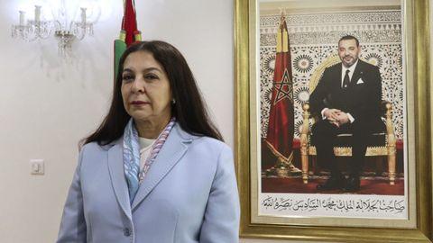 La embajadora de Marruecos en España, Karima Benyaich, en una imagen de archivo