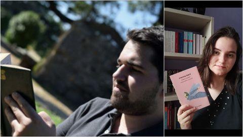 David y Elisa, conductores de las cuentas de Instagram Palabra de Gatsby y De Libros a Libres, respectivamente