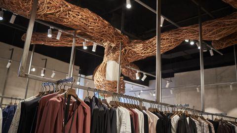 Nueva tienda de Adolfo Domínguez, en la calle del Paseo de Ourense