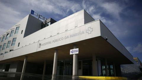 Todos los internados en el hospital mariñano por covid están en planta