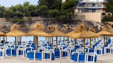 Imagen de archivo de la playa de Palma de Mallorca