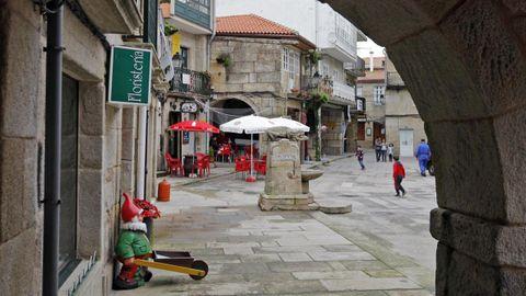 Casco histórico de Muros.