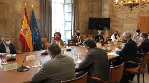La primera reunión de la mesa de trabajo por Ence fue en Madrid en abril