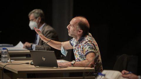 Jácome emuló a Rajoy y acusó a PSOE y BNG de querer para Ourense «cuanto peor, mejor».