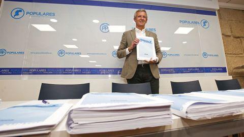 Alfonso Rueda será relegido el día 18 presidente provincial del PP
