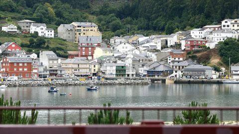 Puerto de O Barqueiro, en el concello de Mañón