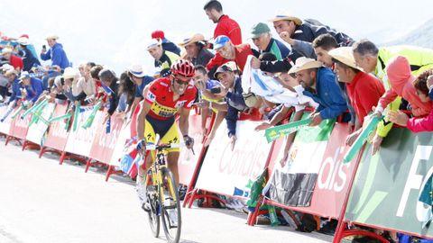 Alberto Contador fraguó su victoria de La Vuelta en la subida de Ancares del 2014