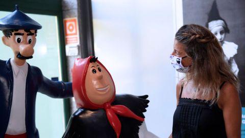 La vicepresidenta del Gobierno y ministra de Trabajo, Yolanda Díaz, participa en la Universidad Popular organizada por Podemos Asturies para hablar sobre  Un nuevo proyecto de País: vida buena y trabajo decente , hoy domingo en el Museo del Pueblo en Gijón.