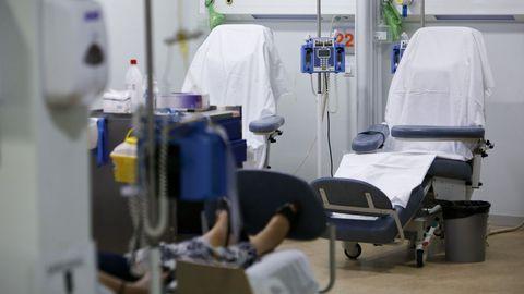 Sala de quimioterapia del hospital de día de HULA