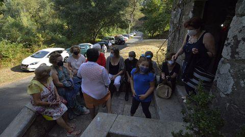 Los vecinos de Posmarcos no faltaron a su cita con A Guadalupe dos Casás