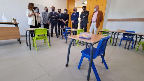 Las sillas y las mesas de las aulas son más manejables