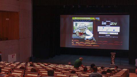 Inauguración de la VI edición del Festival Internacional de Curtas de Verín (FIC).