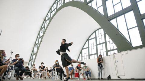 Espectáculo en la pasada edición del DiversidArte, en A Coruña.