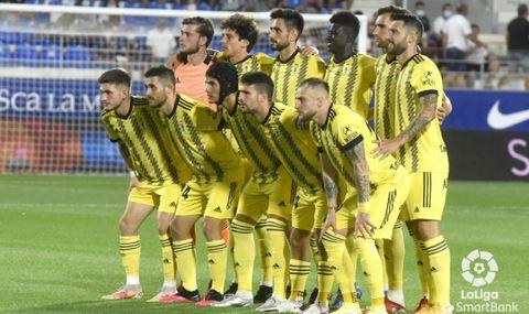 Alineación del Real Oviedo frente al Huesca