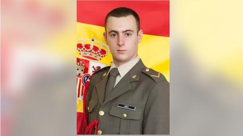 El cadete gijonés fallecido. EUROPA PRESS