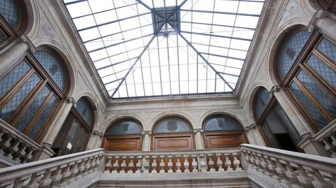 Así está el edificio del Concello de Pontevedra que afrontará su reforma en breve