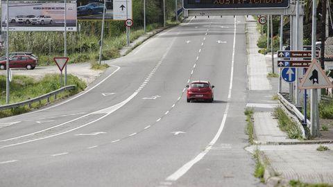 La variante norte enlazará con la carretera Nacional 120 en Quintela de Canedo.