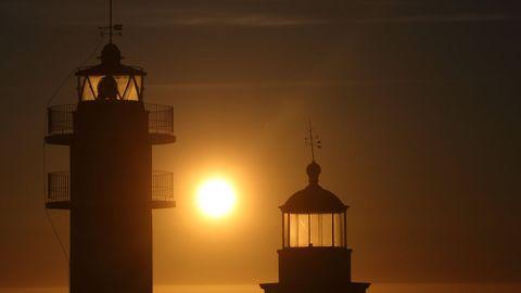 Cabo Touriñán, el punto más occidental de la España peninsular, en Muxía.