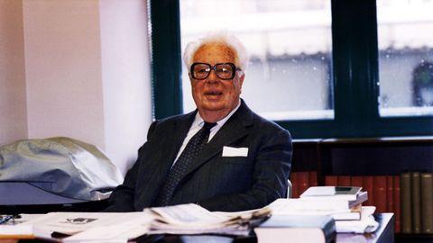 Fernández del Riego presidía el jurado del premio