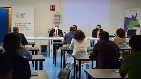 La jornada protagonizada por expertos y profesionales del sector fue inaugurada por el presidente de la Diputación de Lugo, José Tomé