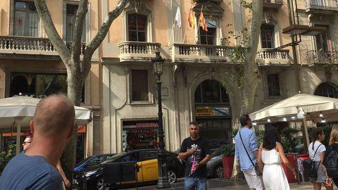 El Centro Galego de Barcelona está ubicado en las Ramblas