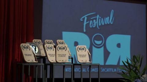 Gala de entrega de premios del festival RIR de 2019.