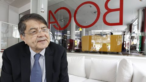 El escritor nicaragüense Sergio Ramírez, durante una visita a Madrid en el 2013.