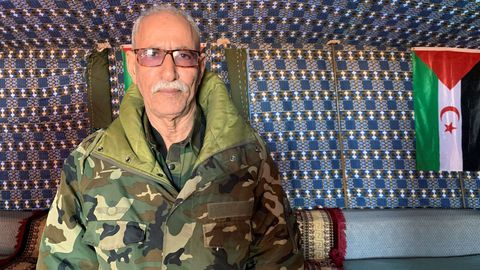Brahim Ghali  en una imagen de archivo