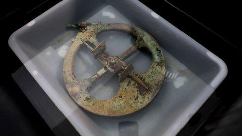 El astrolabio hallado en Viveiro.