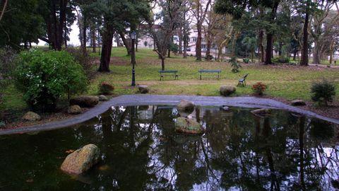 Jardines de la UNED en Pontevedra