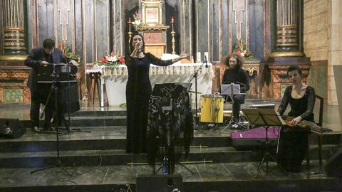 O grupo 2naFronteira interpreta temas musicais de tradición sefardí