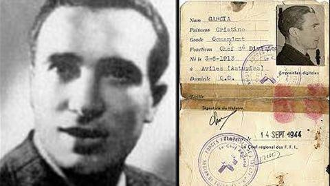Cristino García Granda, el asturiano más famoso en la guerrilla francesa durante la segunda guerra mundial