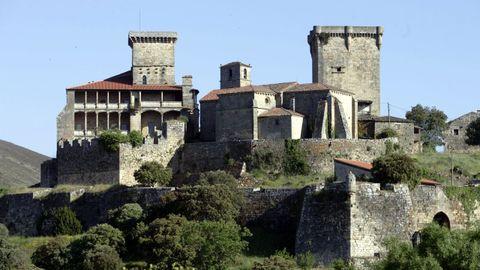 Castillo de Monterrei.