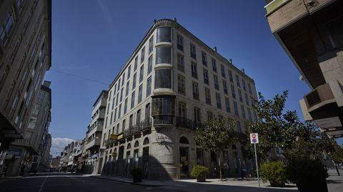 Fachada actual del Gran Hotel Salgado