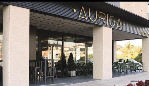 Adaptación de local para gastrobar en la calle Amado Carballo de Ourense