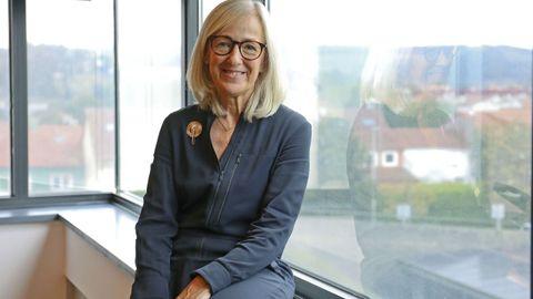 Estrella López-Pardo, directora xeral de Planificación e Reforma Sanitaria