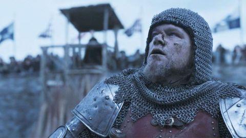 Matt Damon, en una escena del filme de Ridley Scott «The Last Duel».