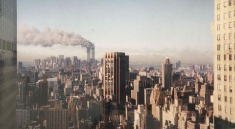Foto cedida por Carmen Payá, una coruñesa que estaba en Nueva York en el 11S